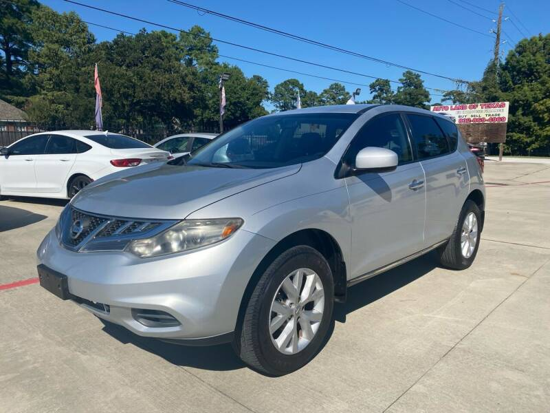 2012 Nissan Murano for sale at Auto Land Of Texas in Cypress TX