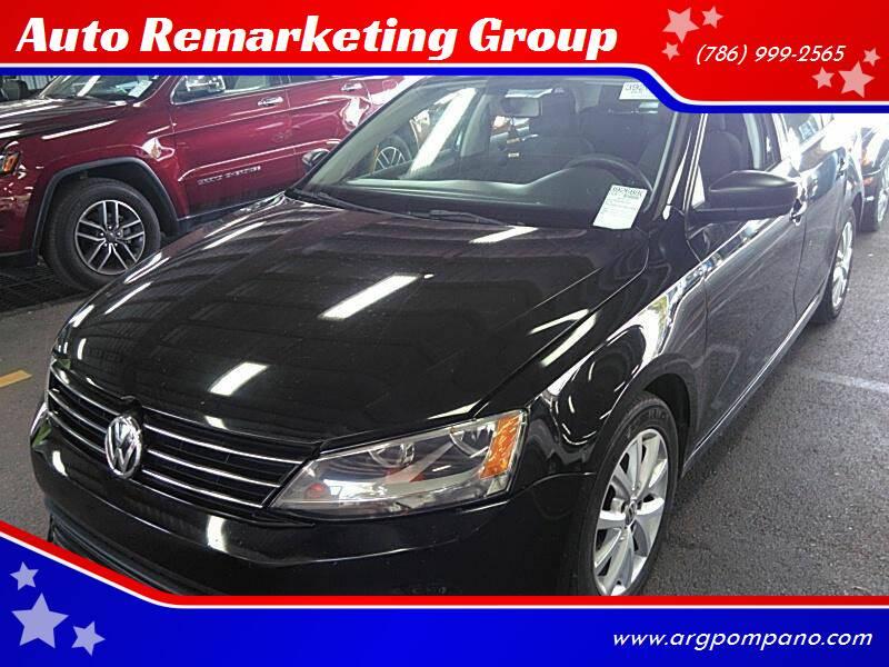 2015 Volkswagen Jetta for sale at Auto Remarketing Group in Pompano Beach FL