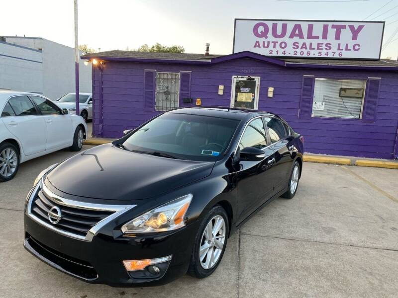 2015 Nissan Altima for sale at Quality Auto Sales LLC in Garland TX