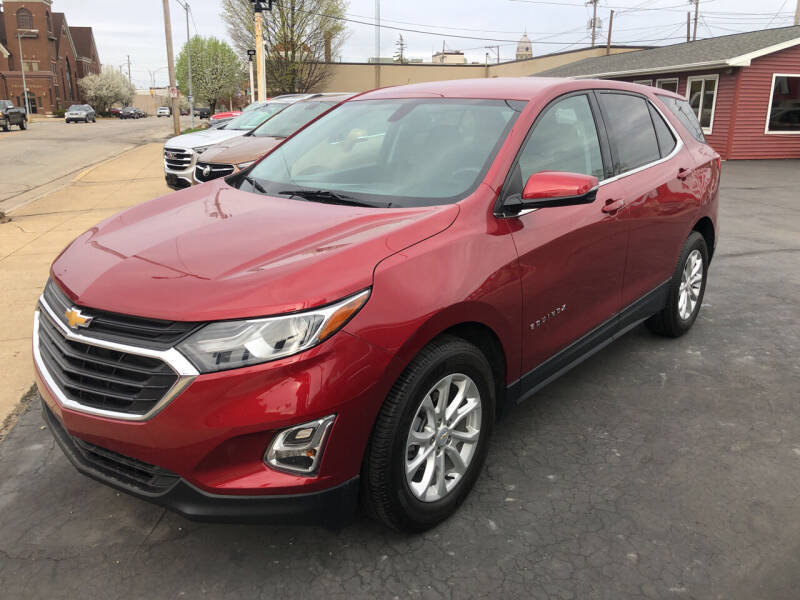 2019 Chevrolet Equinox for sale at N & J Auto Sales in Warsaw IN