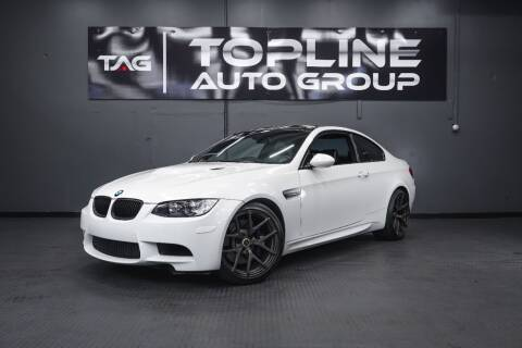 2008 BMW M3 for sale at TOPLINE AUTO GROUP in Kent WA