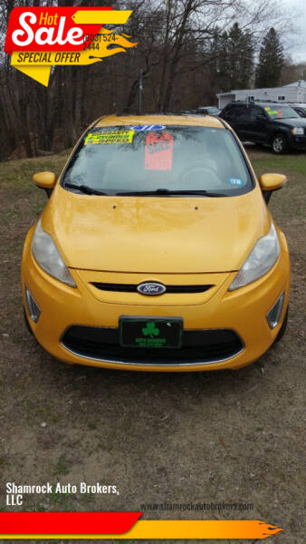 2011 Ford Fiesta for sale at Shamrock Auto Brokers, LLC in Belmont NH
