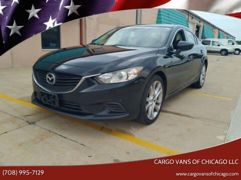 2014 Mazda MAZDA6 for sale at Cargo Vans of Chicago LLC in Mokena IL