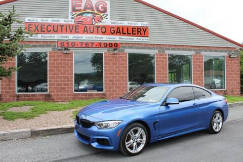 2015 BMW 4 Series for sale at EXECUTIVE AUTO GALLERY INC in Walnutport PA