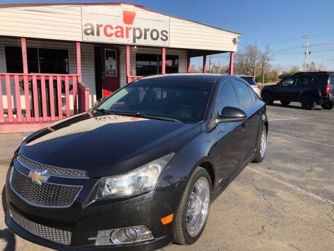 2014 Chevrolet Cruze for sale at Arkansas Car Pros in Cabot AR