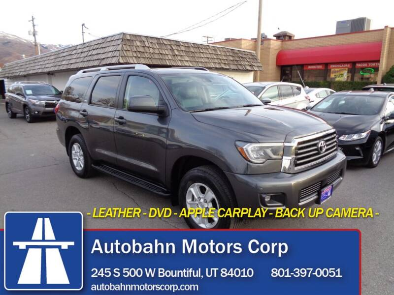 2020 Toyota Sequoia for sale at Autobahn Motors Corp in Bountiful UT