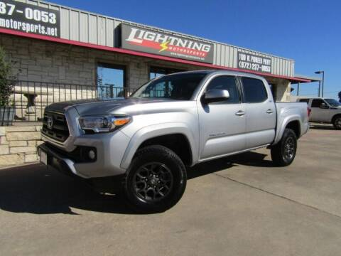2017 Toyota Tacoma for sale at Lightning Motorsports in Grand Prairie TX