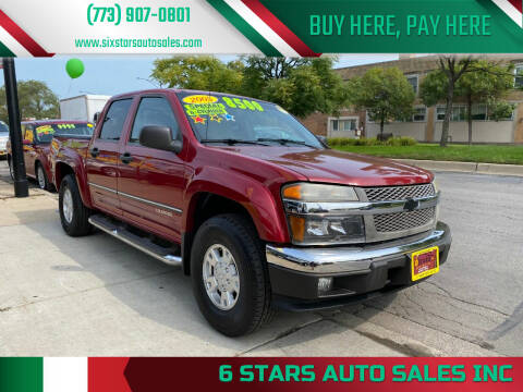 2005 Chevrolet Colorado for sale at 6 STARS AUTO SALES INC in Chicago IL