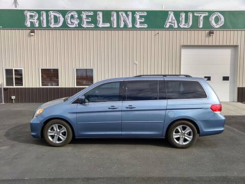 2009 Honda Odyssey for sale at RIDGELINE AUTO in Chubbuck ID