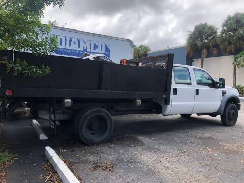 2008 Ford F-550 for sale at Tropical Motors Cargo Vans and Car Sales Inc. in Pompano Beach FL