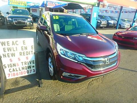 2015 Honda CR-V for sale at Cedano Auto Mall Inc in Bronx NY