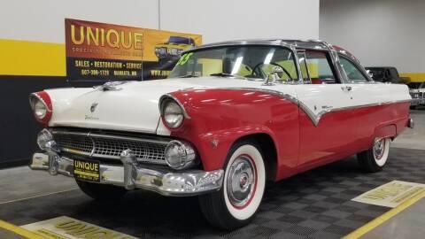 1955 Ford Crown Victoria for sale at UNIQUE SPECIALTY & CLASSICS in Mankato MN