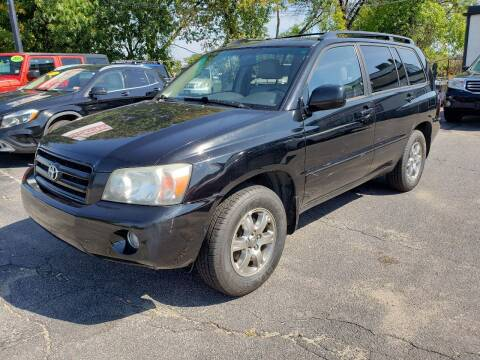 2006 Toyota Highlander for sale at Real Deal Auto Sales in Manchester NH