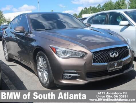 2015 Infiniti Q50 for sale at Carol Benner @ BMW of South Atlanta in Union City GA