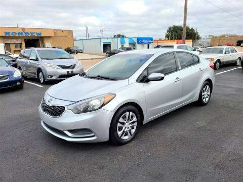 2015 Kia Forte for sale at Image Auto Sales in Dallas TX