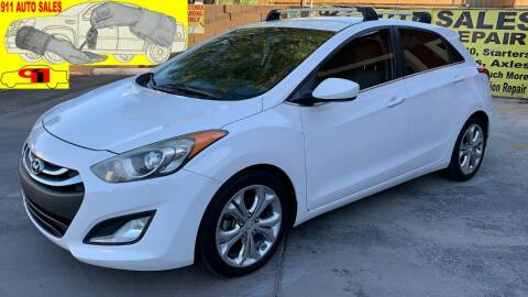 2013 Hyundai Elantra GT for sale at 911 AUTO SALES LLC in Glendale AZ