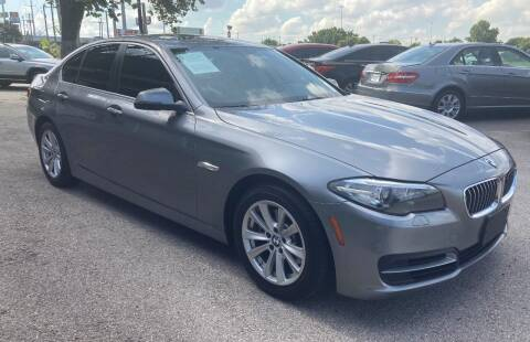 2014 BMW 5 Series for sale at USA AUTO CENTER in Austin TX