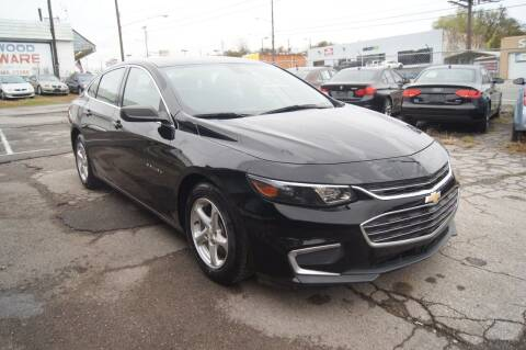 2016 Chevrolet Malibu for sale at Green Ride Inc in Nashville TN