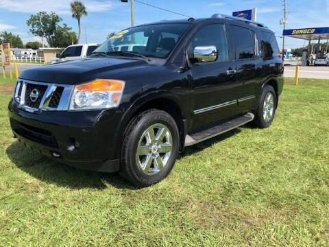 2012 Nissan Armada for sale at Unique Motor Sport Sales in Kissimmee FL