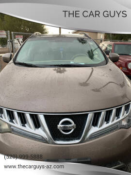 2009 Nissan Murano for sale at The Car Guys in Tucson AZ