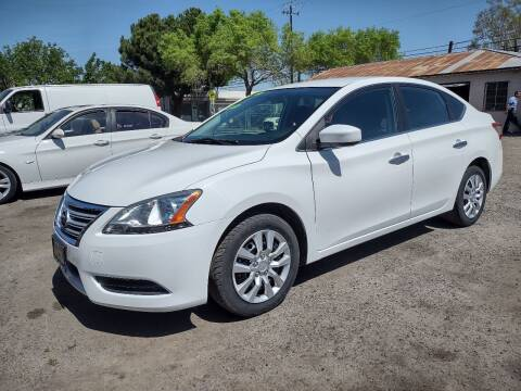 2015 Nissan Sentra for sale at Larry's Auto Sales Inc. in Fresno CA