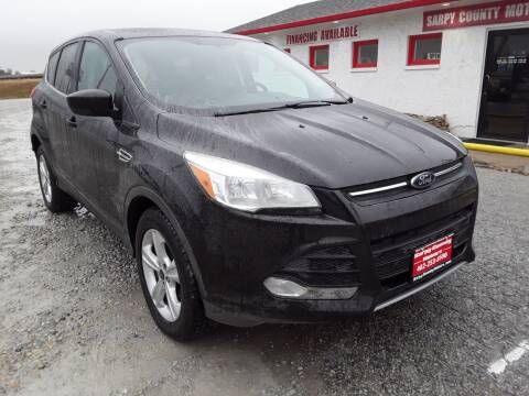 2013 Ford Escape for sale at Sarpy County Motors in Springfield NE