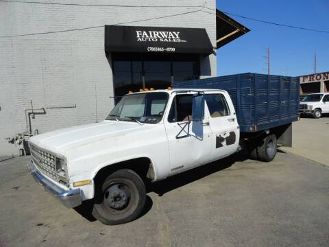 1990 Chevrolet R/V 3500 Series for sale at FAIRWAY AUTO SALES, INC. in Melrose Park IL