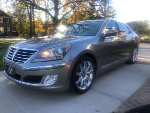 2012 Hyundai Equus for sale at Elite Motorcars in Smyrna TN