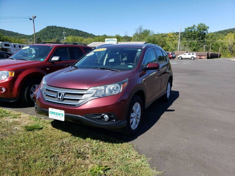 2013 Honda CR-V for sale at Greens Auto Mart Inc. in Wysox PA