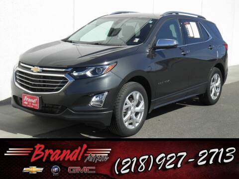 2018 Chevrolet Equinox for sale at Brandl GM in Aitkin MN