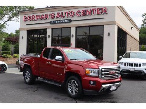 2016 GMC Canyon for sale at DORMANS AUTO CENTER OF SEEKONK in Seekonk MA