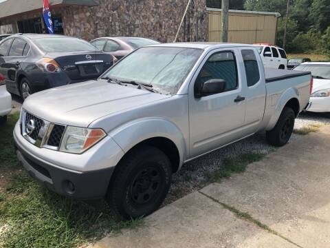 2005 Nissan Frontier for sale at E Motors LLC in Anderson SC