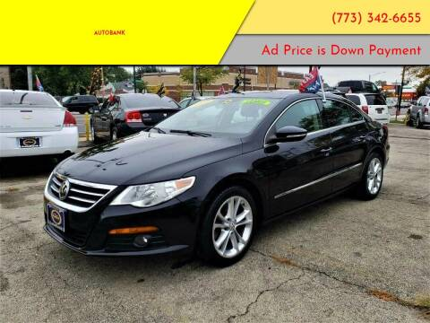 2009 Volkswagen CC for sale at AutoBank in Chicago IL