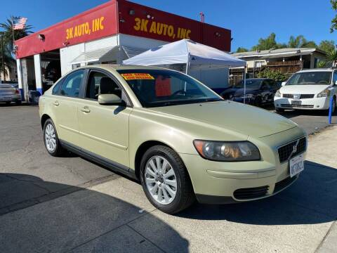 2006 Volvo S40 for sale at 3K Auto in Escondido CA