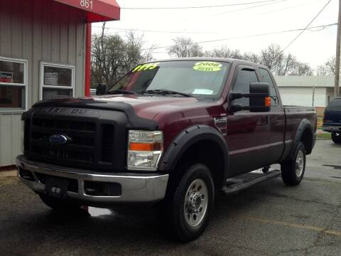2008 Ford F-250 Super Duty for sale at Midwest Auto & Truck 2 LLC in Mansfield OH