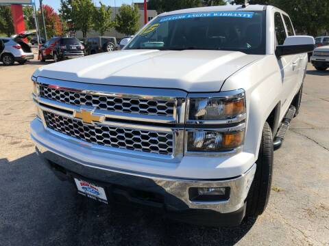 2015 Chevrolet Silverado 1500 for sale at Bibian Brothers Auto Sales & Service in Joliet IL