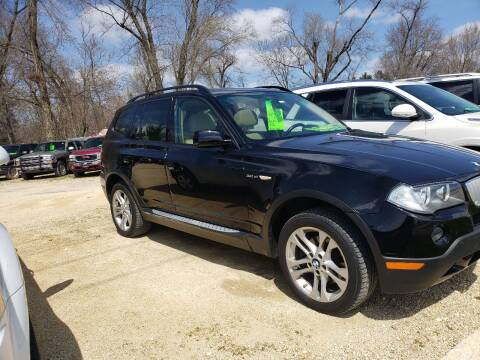 2008 BMW X3 for sale at Northwoods Auto & Truck Sales in Machesney Park IL