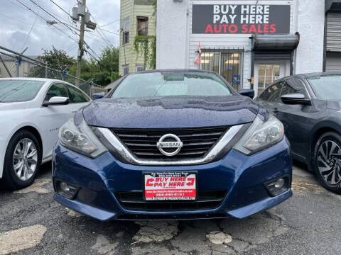 2016 Nissan Altima for sale at Buy Here Pay Here Auto Sales in Newark NJ