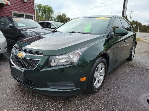 2014 Chevrolet Cruze for sale at Hwy 13 Motors in Wisconsin Dells WI