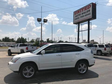 2008 Lexus RX 400h for sale at United Auto Sales in Oklahoma City OK