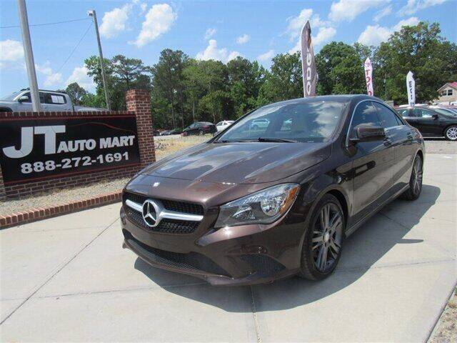 2015 Mercedes-Benz CLA for sale at J T Auto Group in Sanford NC