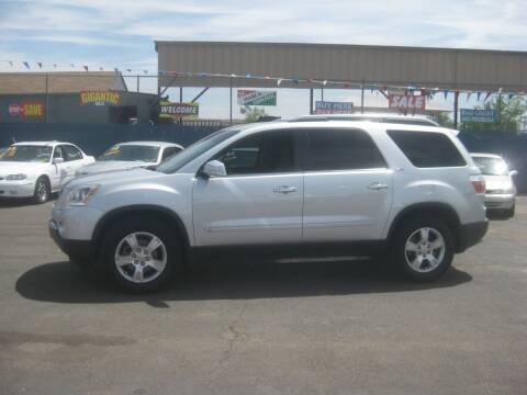 2009 GMC Acadia for sale at Town and Country Motors - 1702 East Van Buren Street in Phoenix AZ