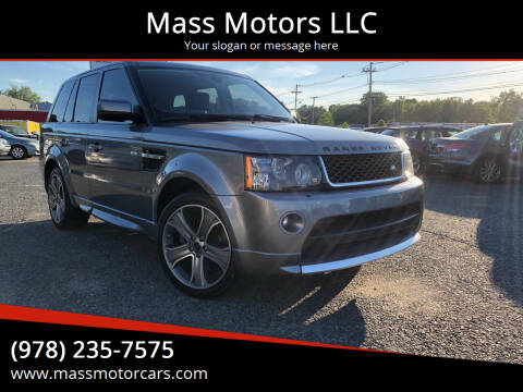 2012 Land Rover Range Rover Sport for sale at Mass Motors LLC in Worcester MA