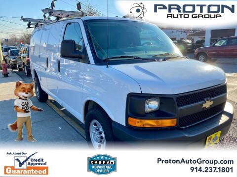 2017 Chevrolet Express Cargo for sale at Proton Auto Group in Yonkers NY