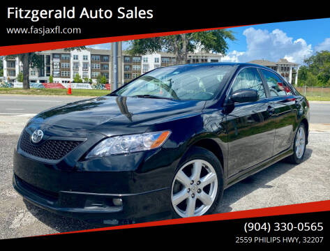 2009 Toyota Camry for sale at Fitzgerald Auto Sales in Jacksonville FL