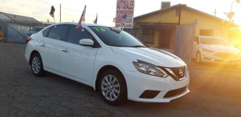 2016 Nissan Sentra for sale at Autosales Kingdom in Lancaster CA