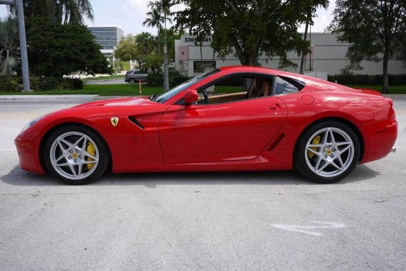2009 Ferrari 599 GTB Fiorano for sale at PERFORMANCE AUTO WHOLESALERS in Miami FL