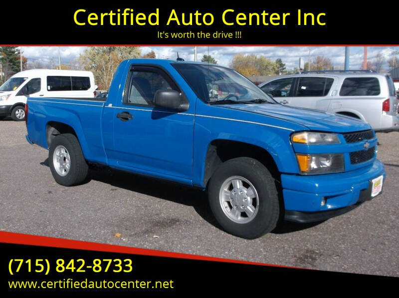 2008 Chevrolet Colorado for sale at Certified Auto Center Inc in Wausau WI