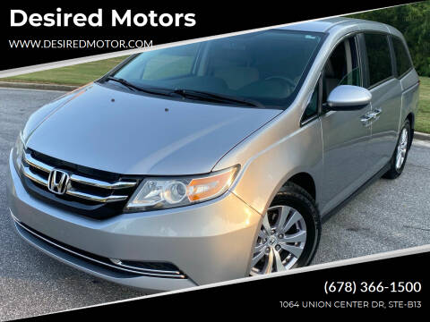 2016 Honda Odyssey for sale at Desired Motors in Alpharetta GA