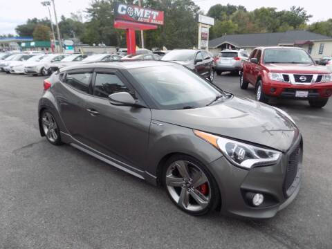 2015 Hyundai Veloster for sale at Comet Auto Sales in Manchester NH